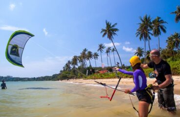 For Kiteboarding Lessons Go To Elite Watersports!